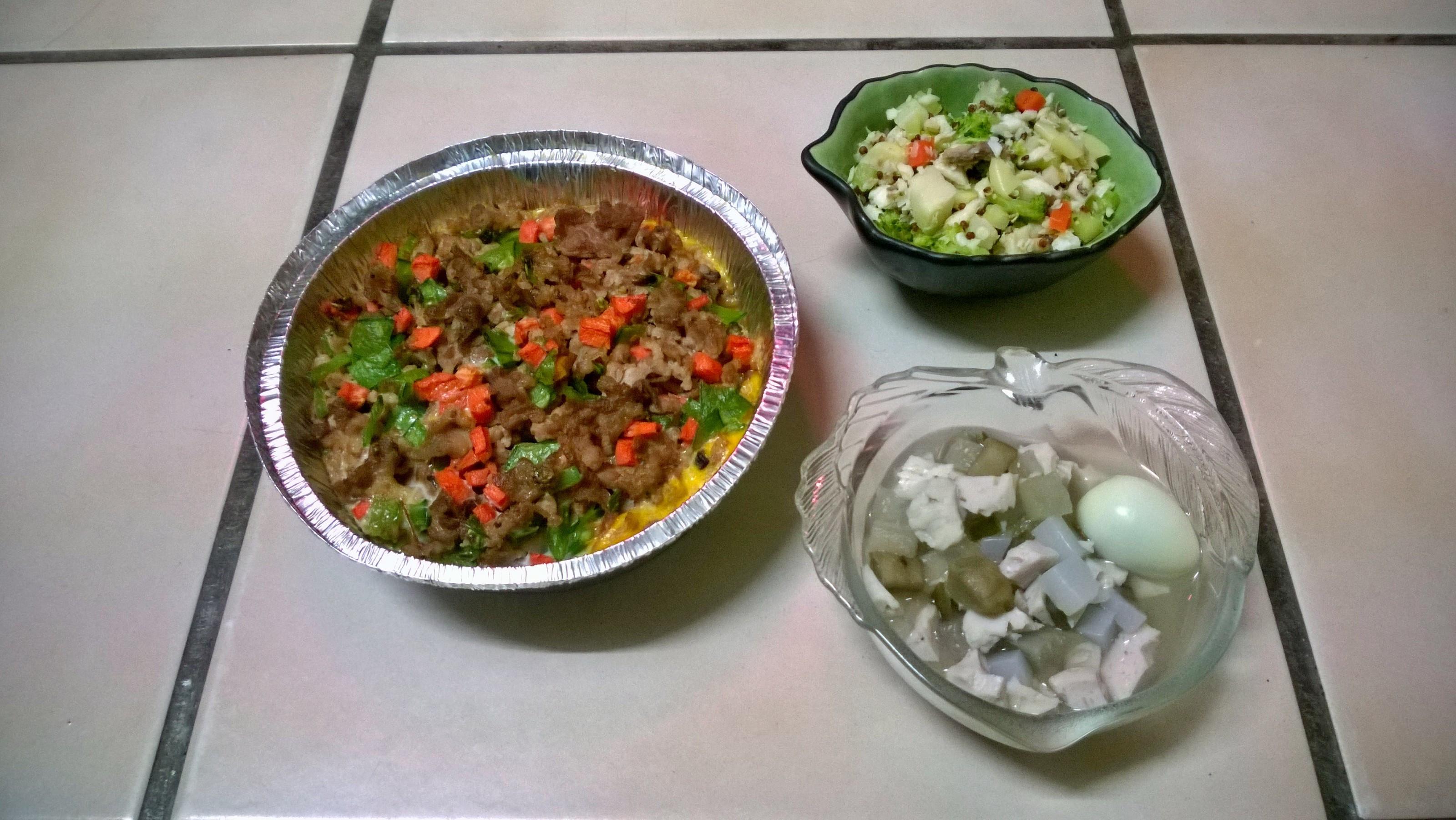 鮮食🐾南瓜肉派 煎魚佐菜 關東煮