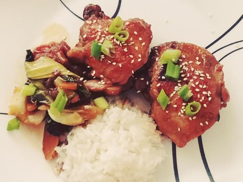 简易日式照烧鸡