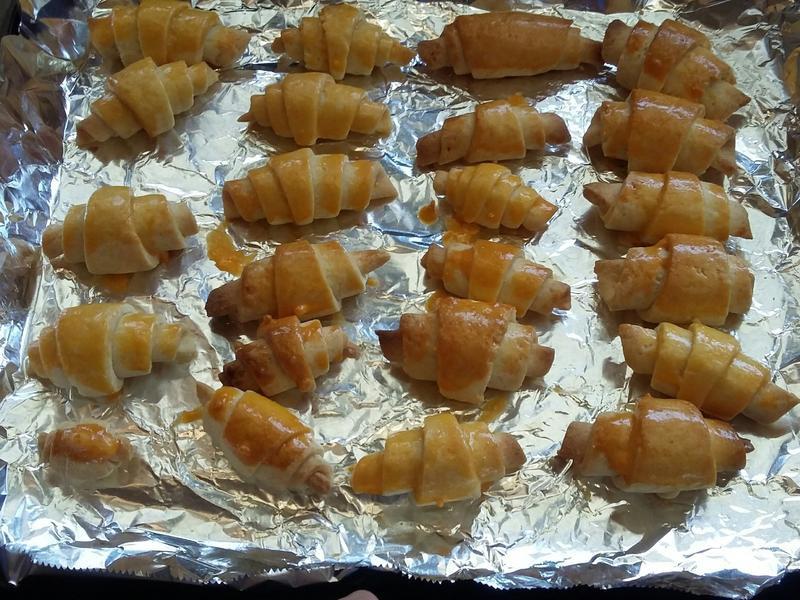 蛋黃牛角餅乾