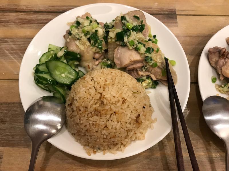 自製改良海南雞飯+雞湯一次完成