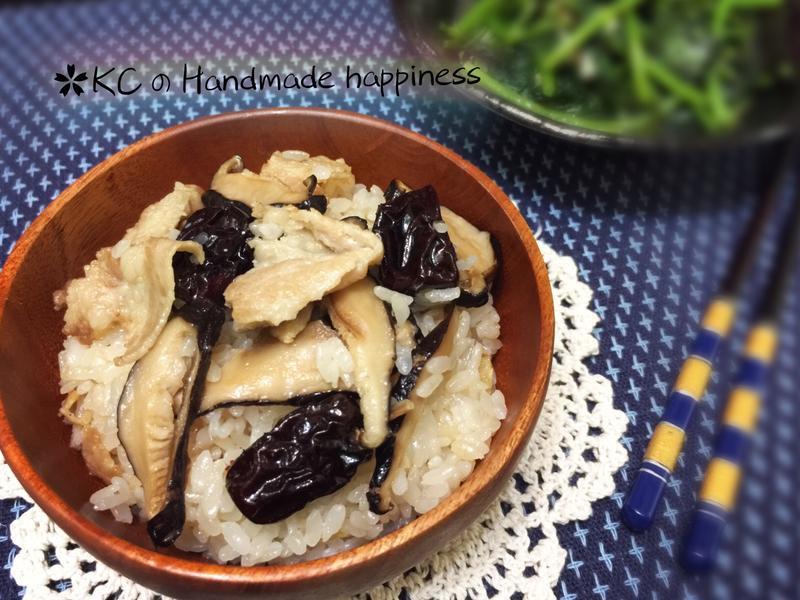 麻油香菇豬肉飯🐷[史雲生清雞湯]