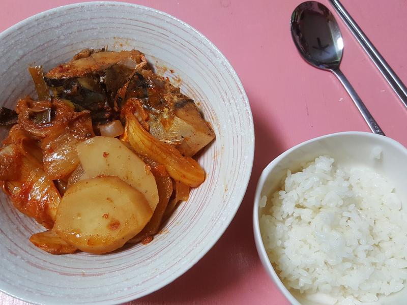 韓式燉鯖魚