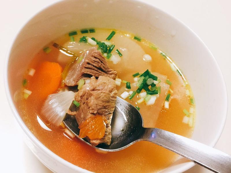 清燉番茄牛肉湯