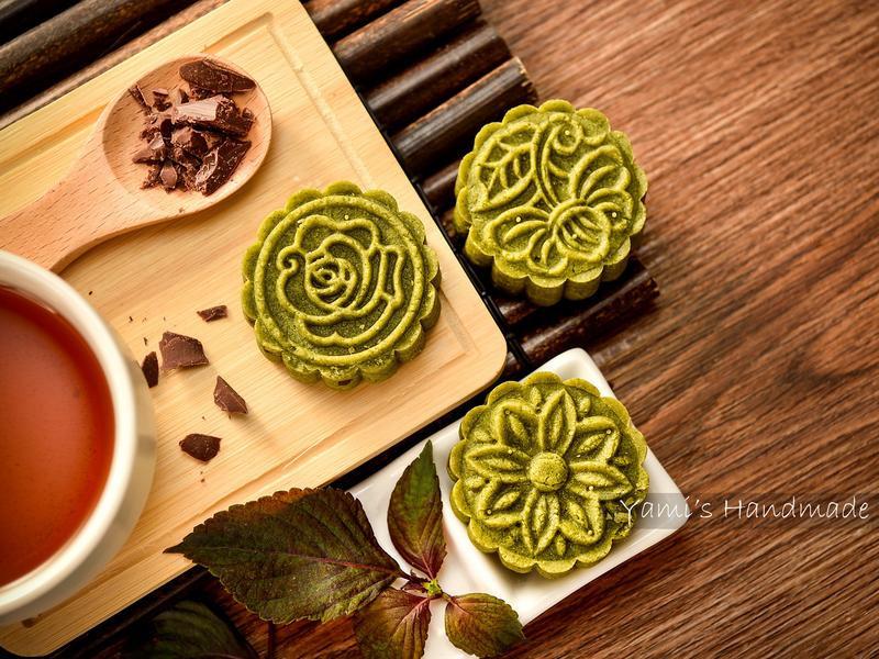 可可綠豆糕【低醣烘焙】