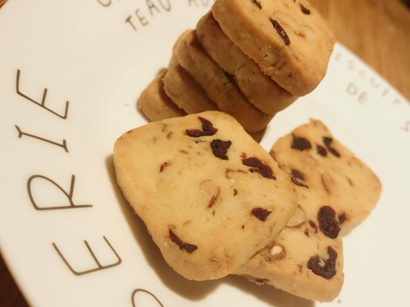 零失敗の核桃蔓越莓餅乾💕