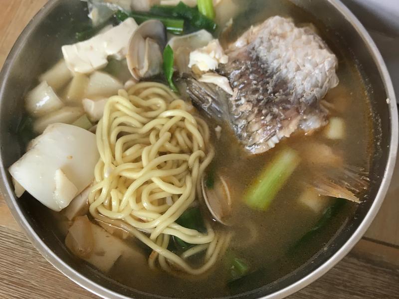 從小吃到大的大麵湯~ 媽媽的好滋味❤️