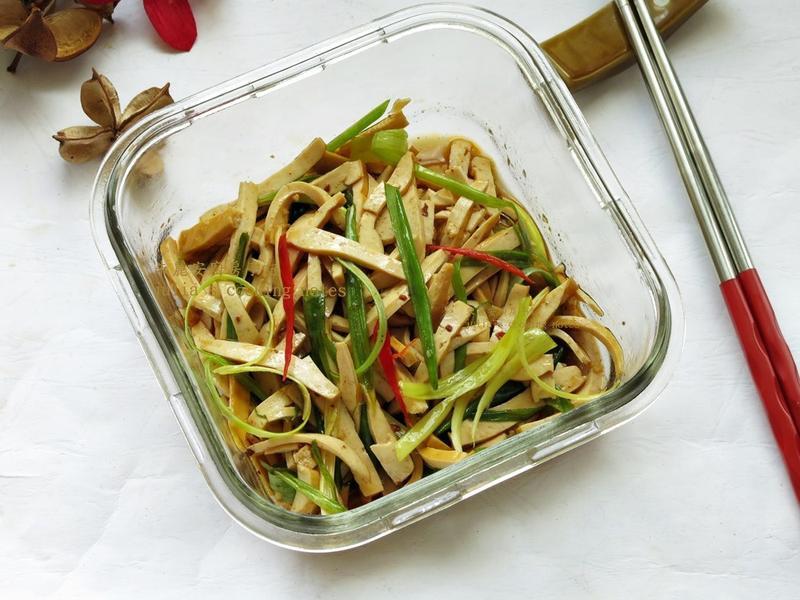 [椒麻豆乾]眷村口味涼拌菜