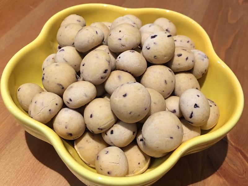 【寶寶食譜】葡萄小饅頭