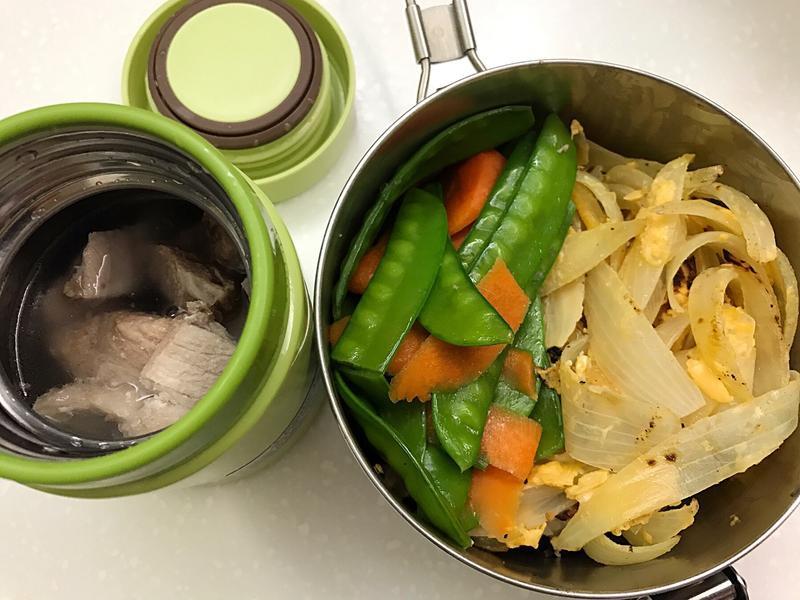 お弁当-170921-洋蔥煎蛋