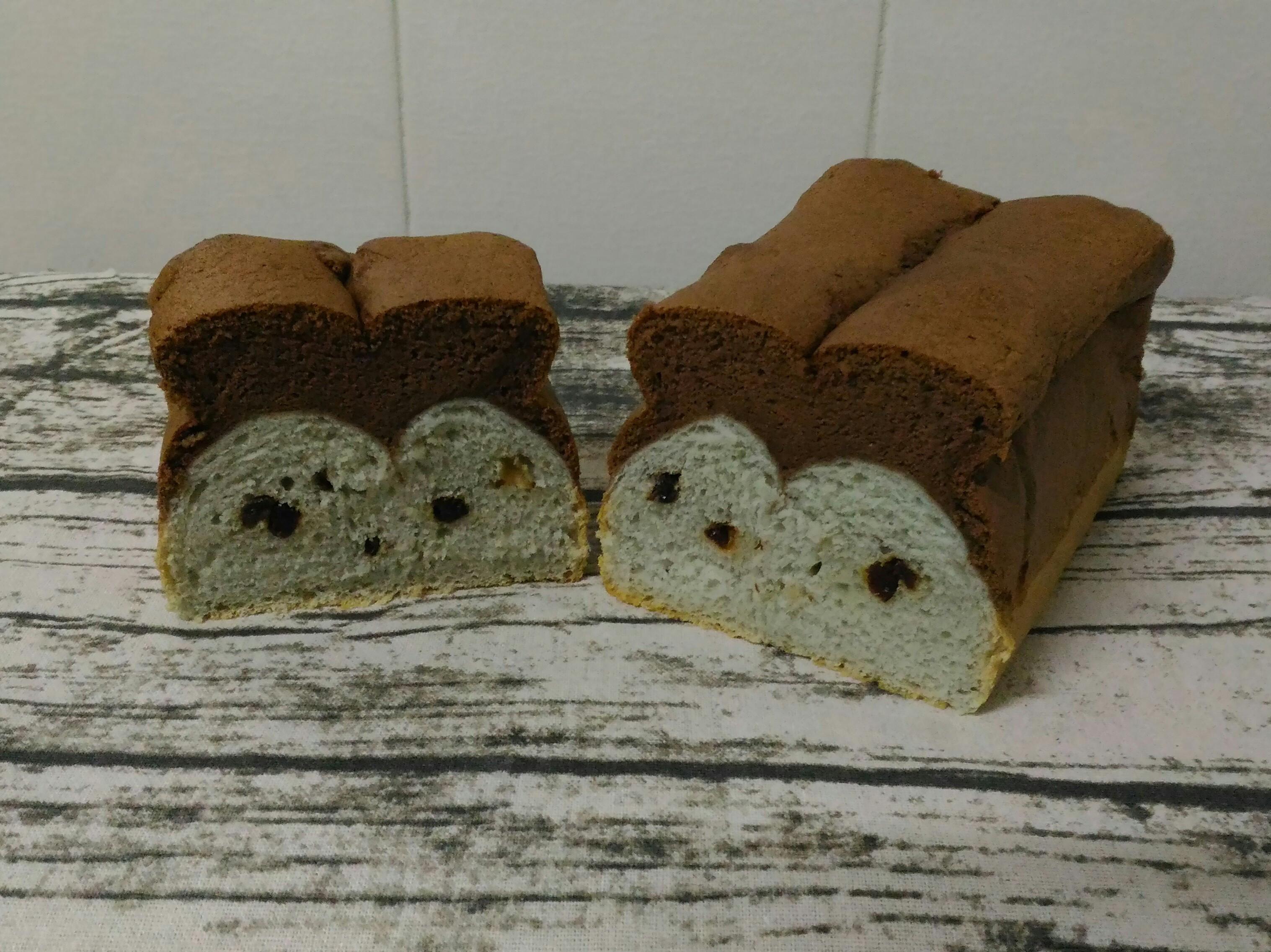 蛋糕吐司(蝶豆花版)