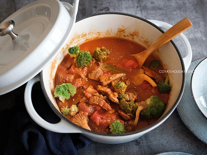 無水番茄燉牛肉(無水料理)