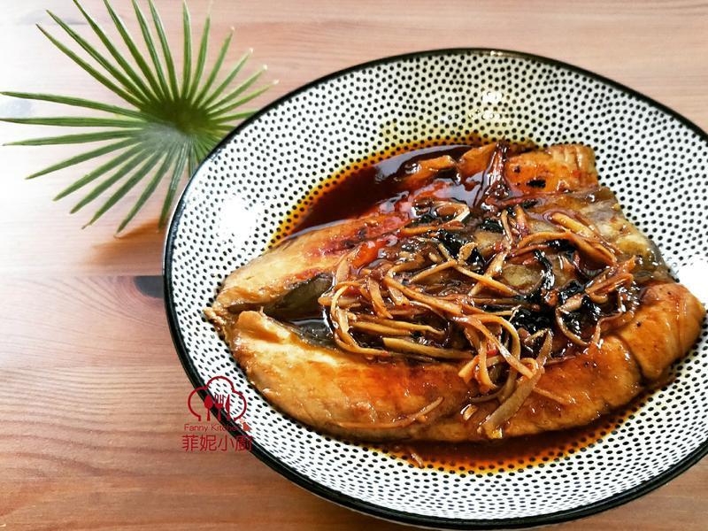 豆瓣蒲燒虱目魚