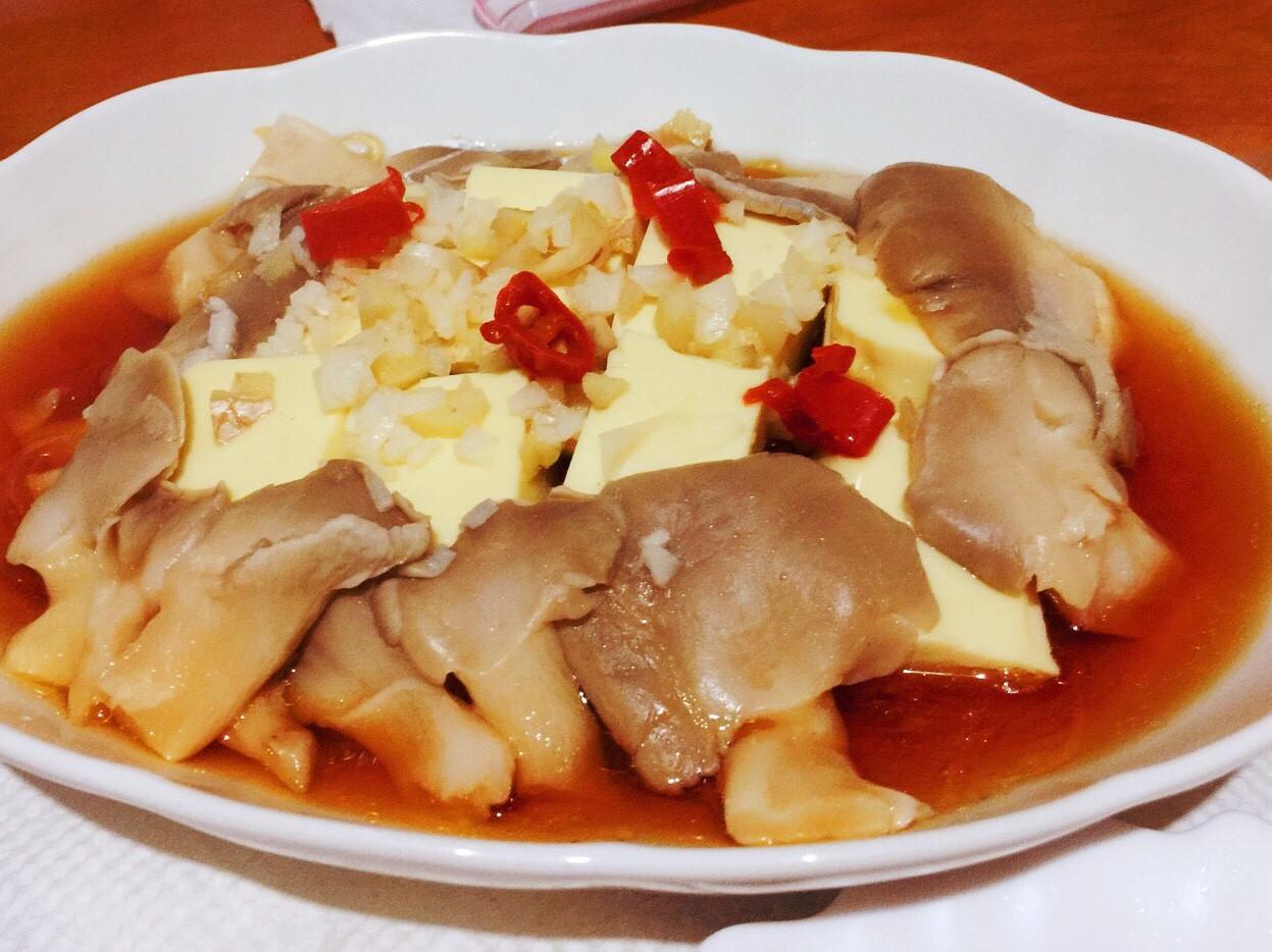 「電鍋料理」粉絲豆腐鮮菇堡