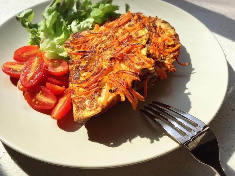 胡蘿蔔法式吐司