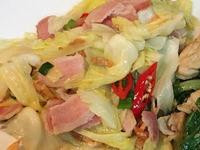 腐乳培根高麗菜