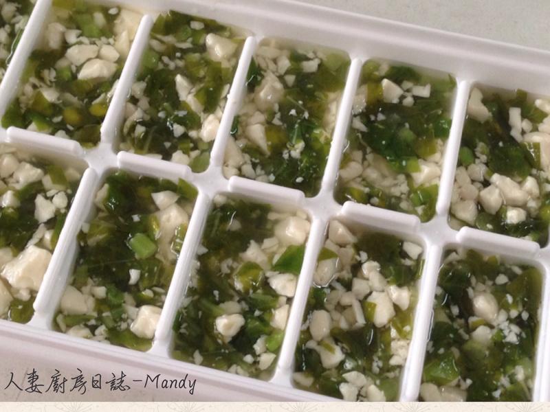 副食品-莧菜嫩豆腐冰磚(10M)