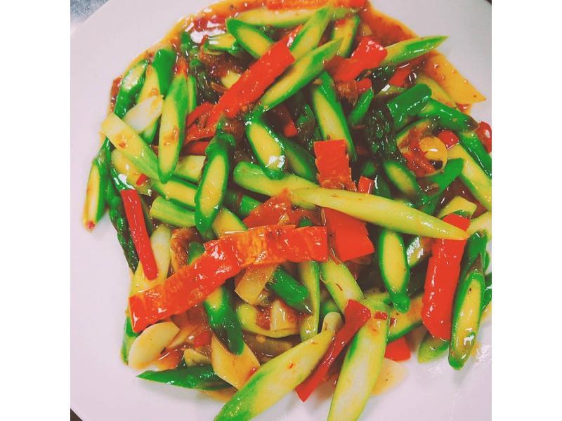 XO醬炒蘆筍