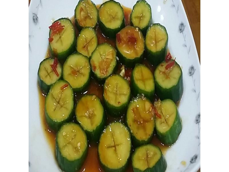 香酸辣小黃瓜