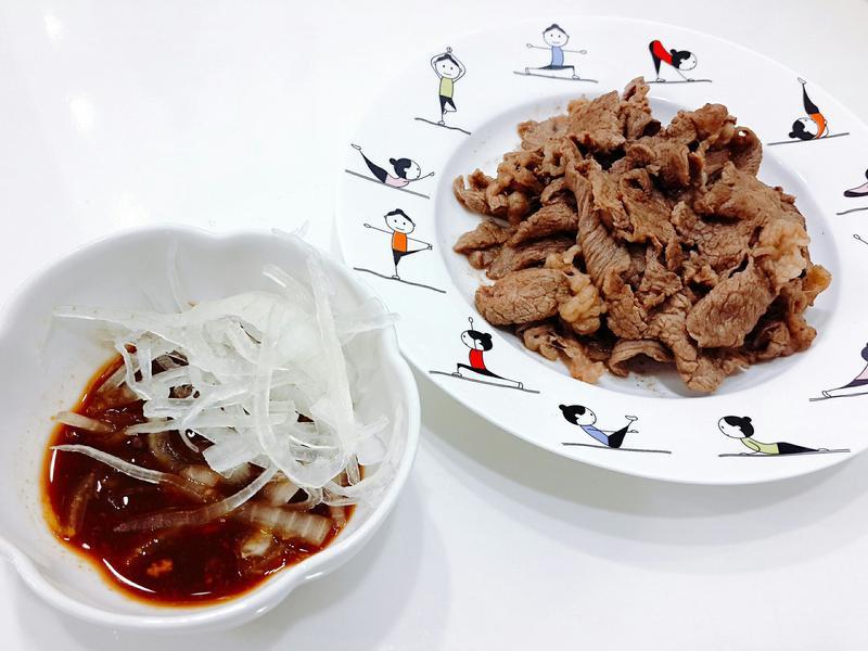 韓國烤肉洋蔥沾醬