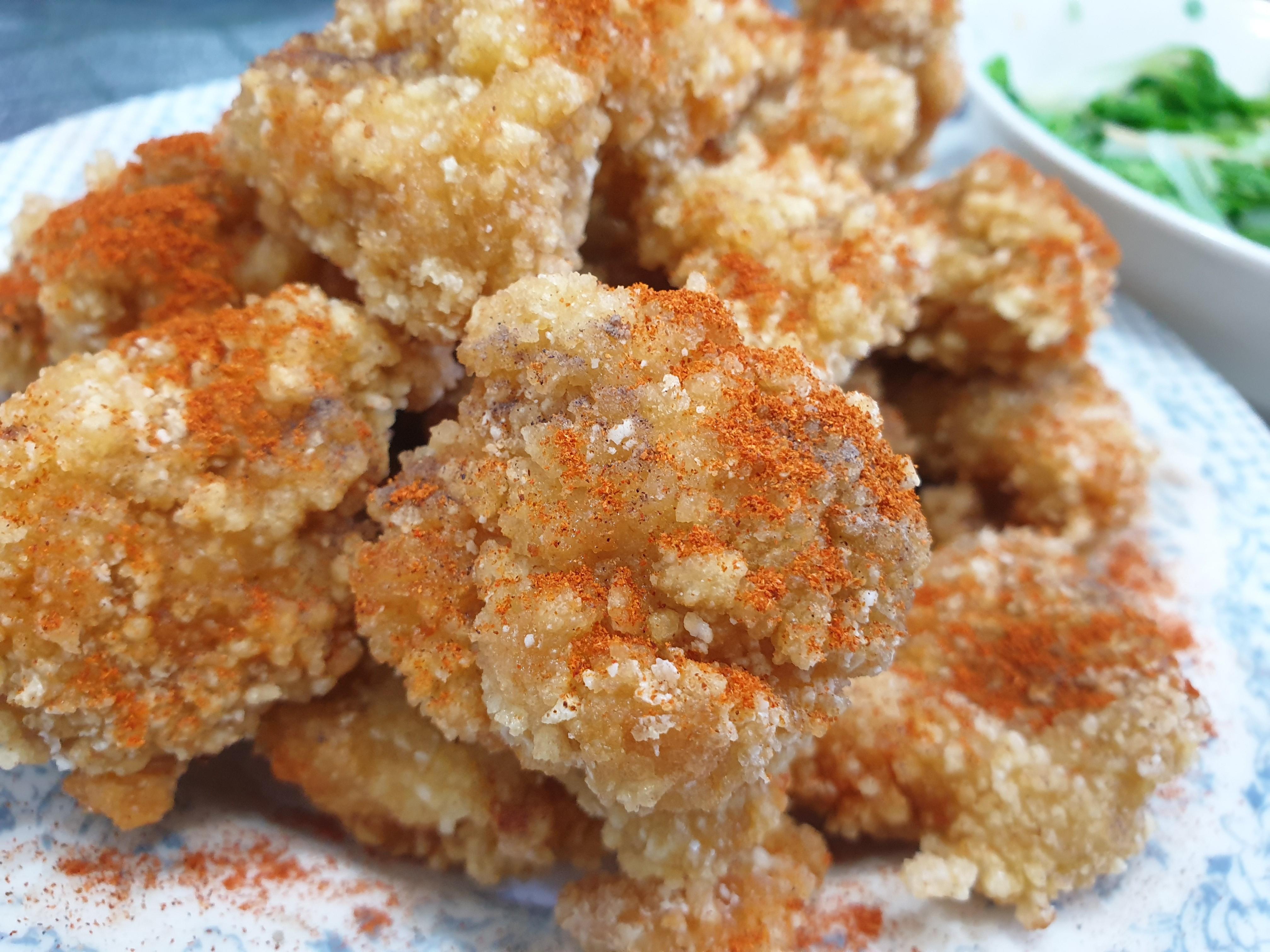 酥炸雞米花