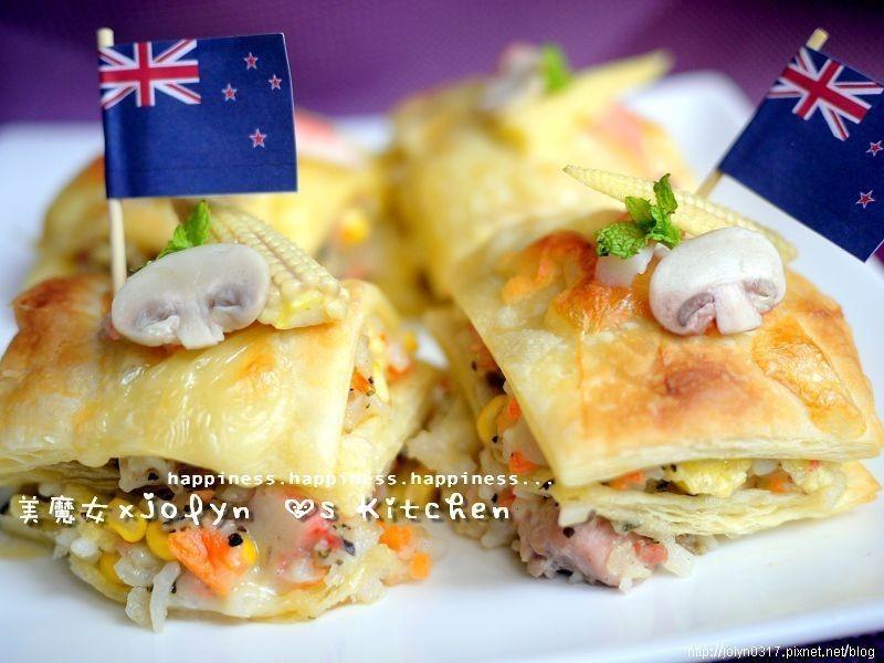 【十分輕鬆料理DIY】蟹將咕菇焗飯三明治