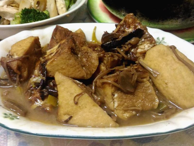 什錦菇豆腐