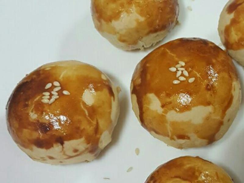 小蛋黃酥(豬油配方)