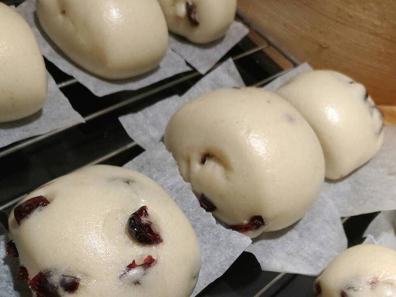 牛奶蔓越莓饅頭