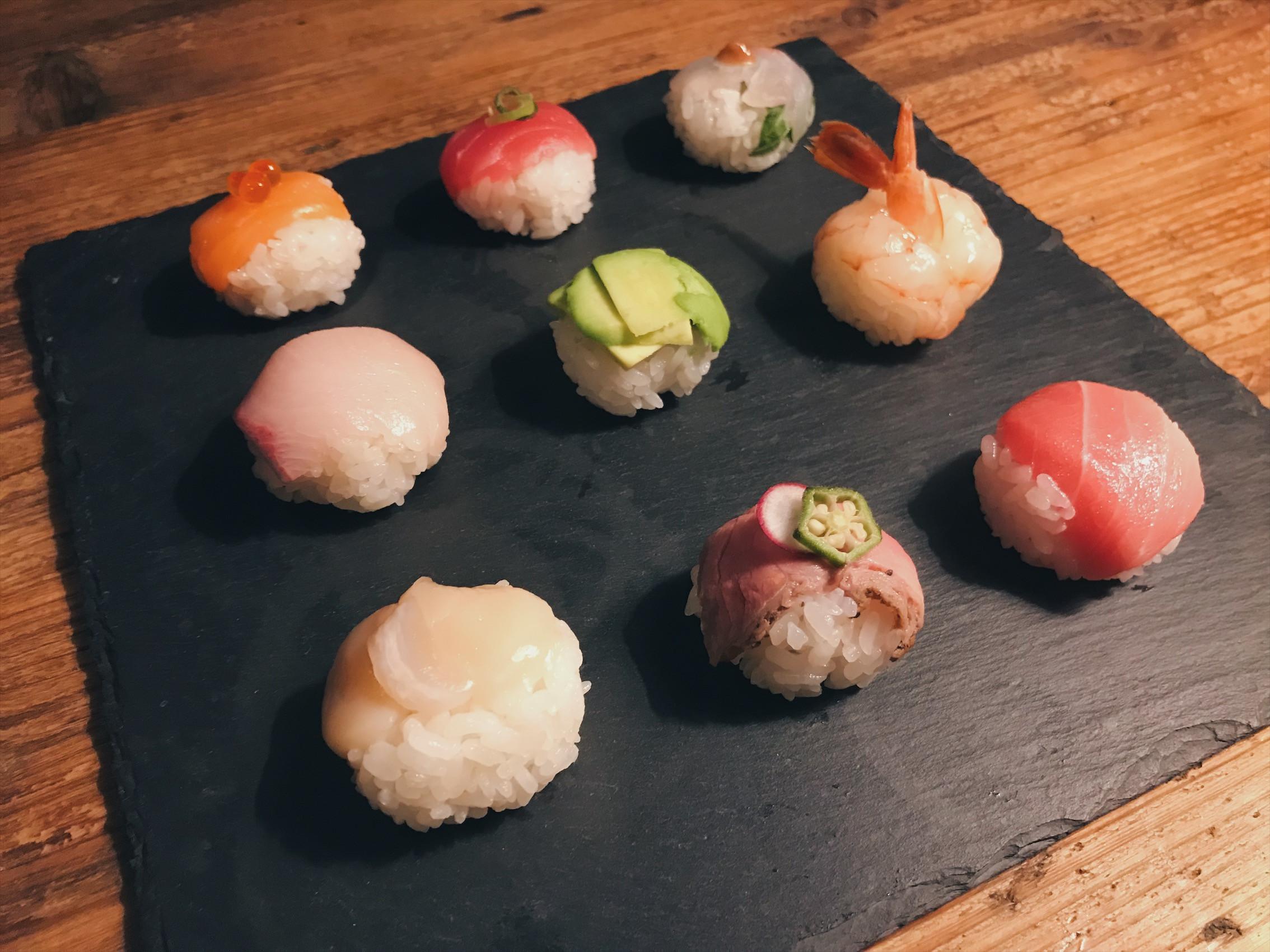 餐桌上的珠寶盒✨手毬寿司(壽司球)