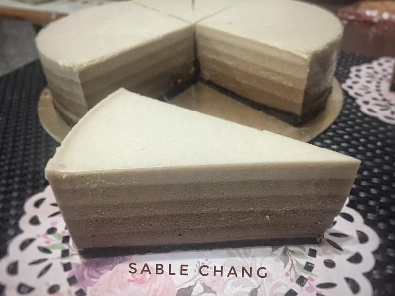 ☕️摩卡乳酪蛋糕(免烤)