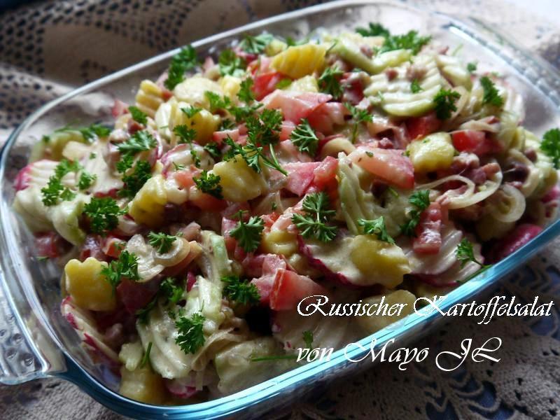 俄羅斯 馬鈴薯沙拉