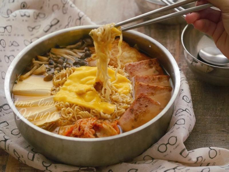 小廚娘❤韓式部隊鍋#電鍋