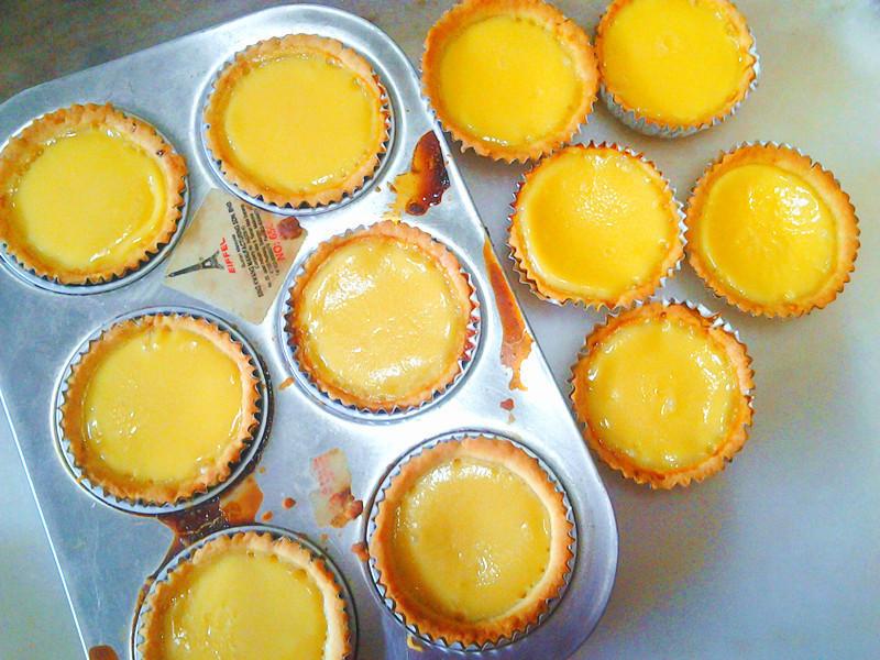 港式蛋挞 Homemade Hong Kong Egg Tart