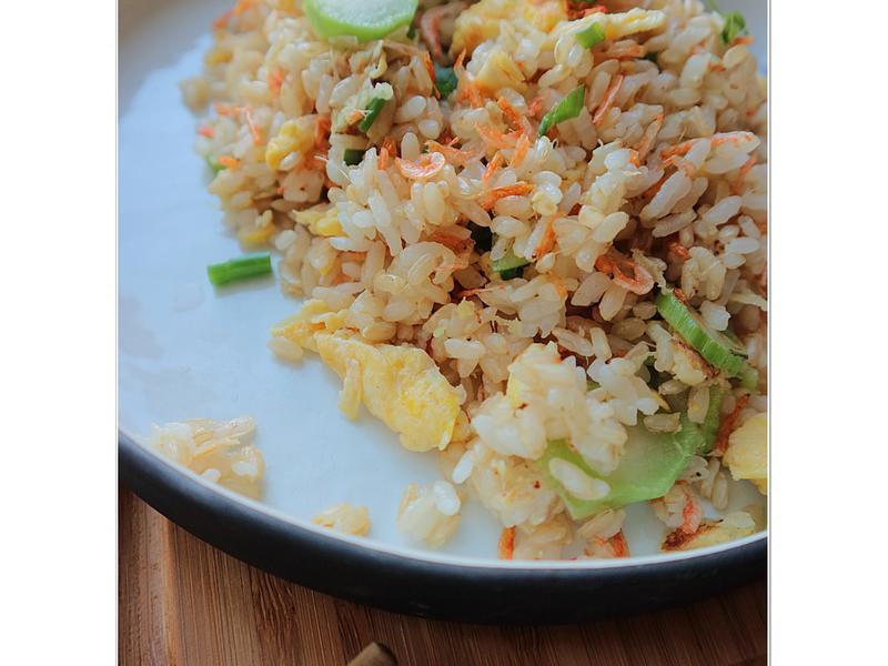 (一人前)羗米櫻花蝦炒飯