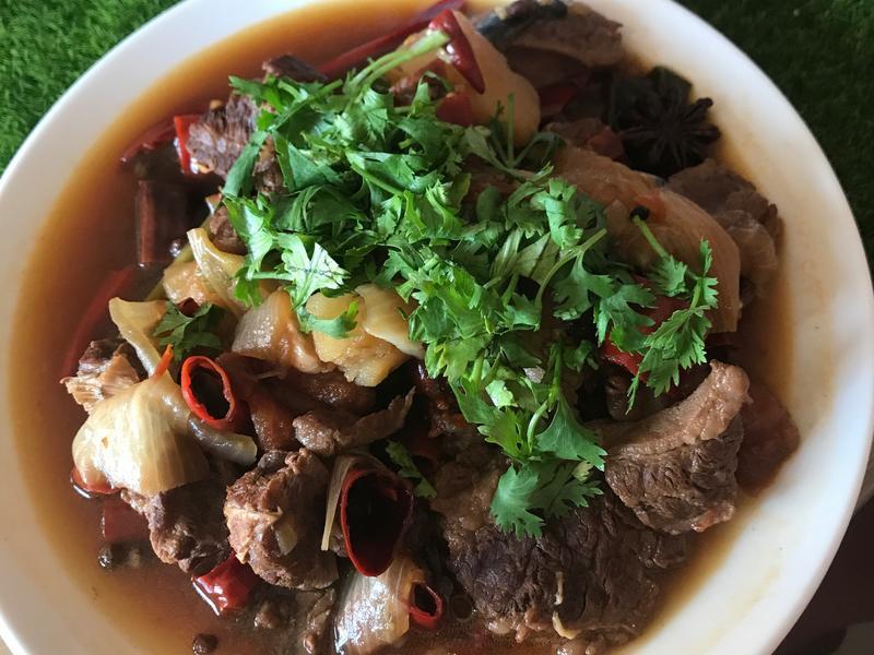 四川水煮牛肉(改良版,少油少辣)