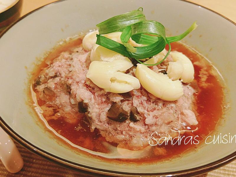 瓜仔蒸肉(電鍋料理)