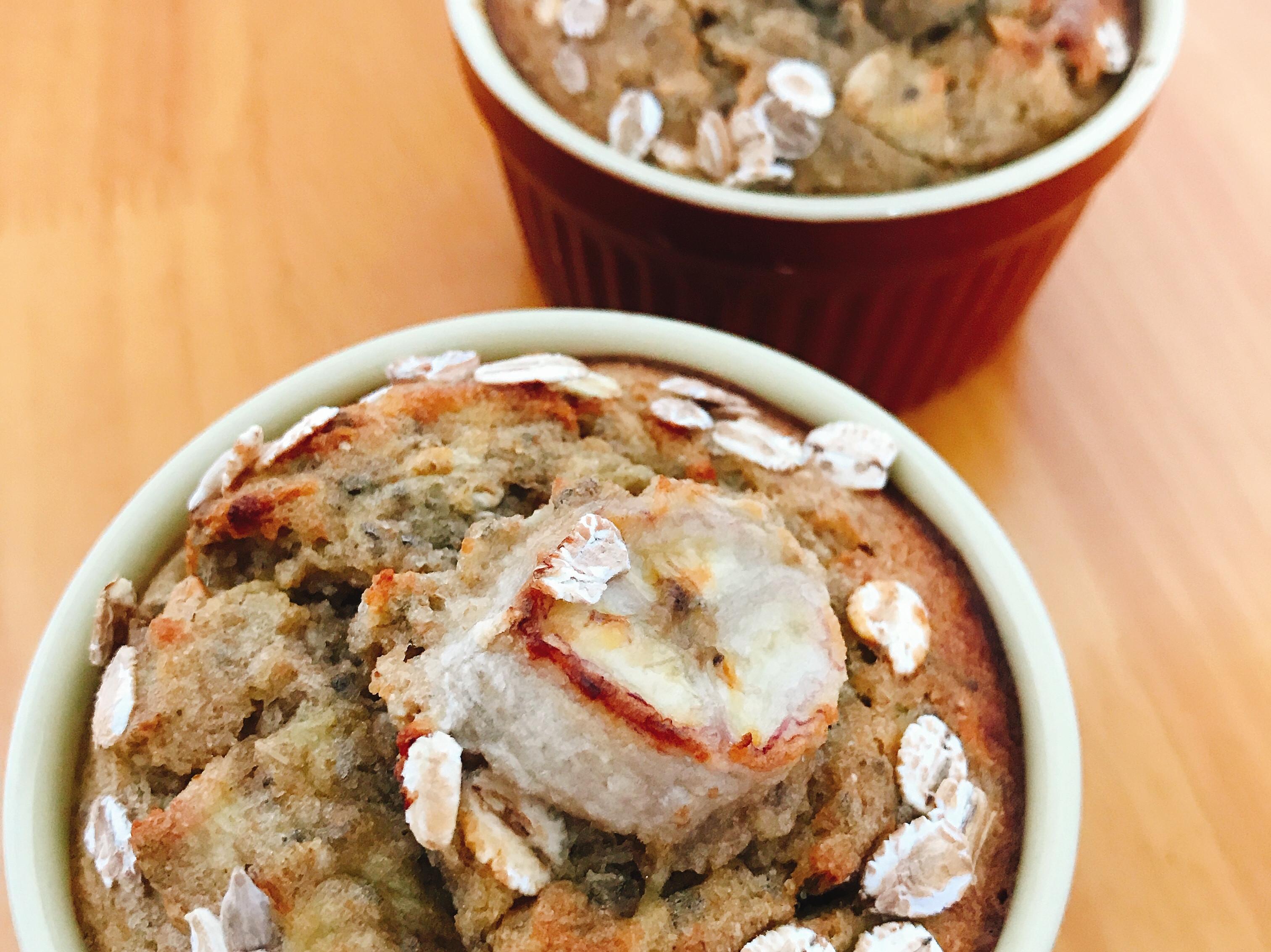 無油無糖香蕉燕麥馬芬 muffin