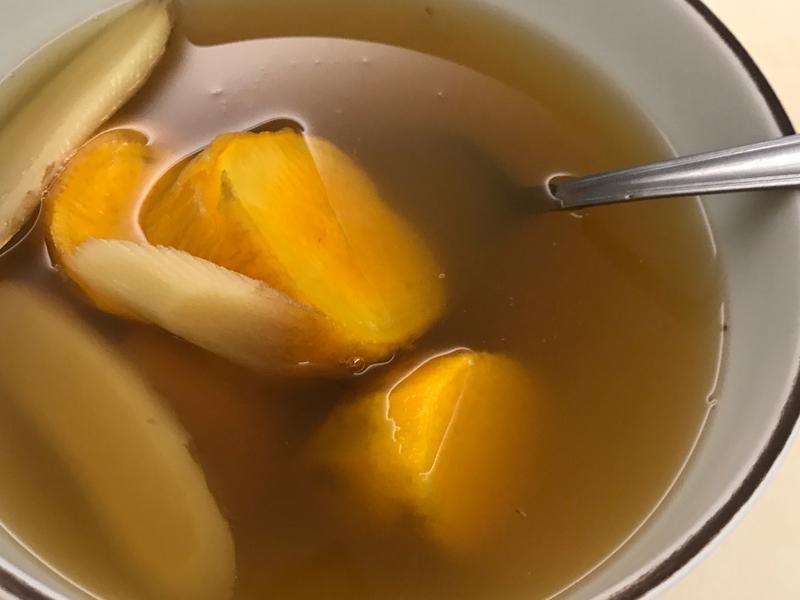 兒時的味道🍠黑糖薑汁地瓜湯
