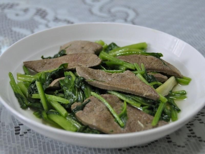 [MamyCare 媽咪凱兒] 月子餐_菠菜炒豬肝