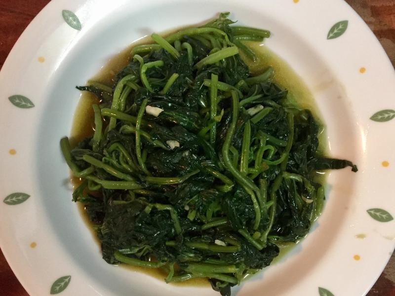 《快速出好菜》水煮地瓜葉