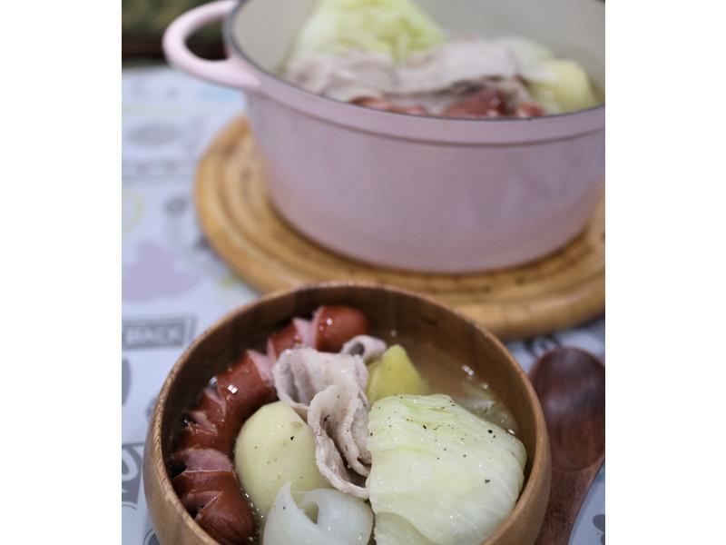 馬鈴薯奶油香腸鍋