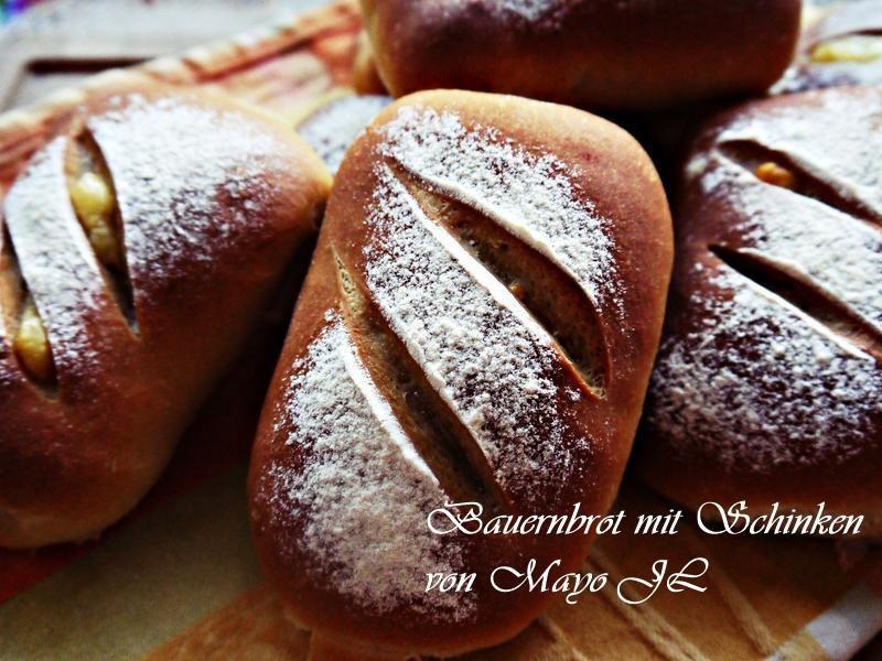 農家培根袋子麵包(Taschen)
