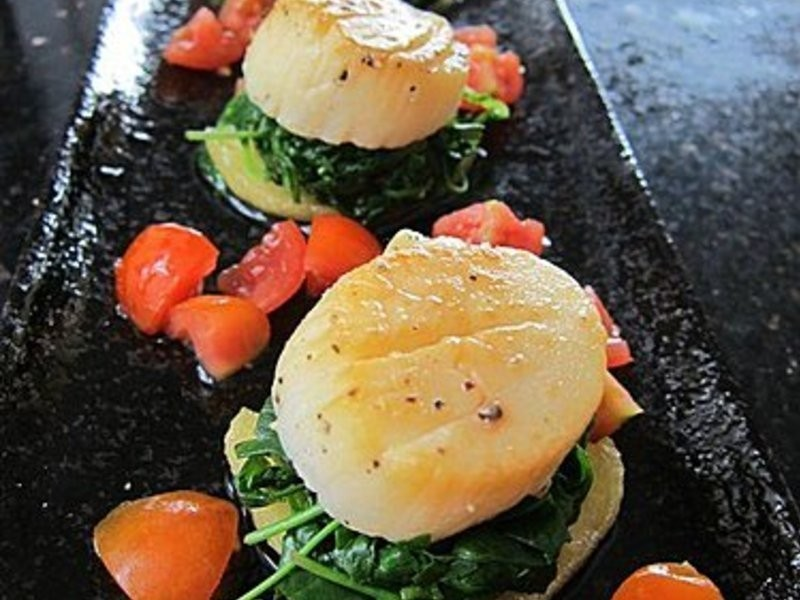 【OL醉愛廚房】玫瑰煙燻帶子(Smoked scallop with Roses)