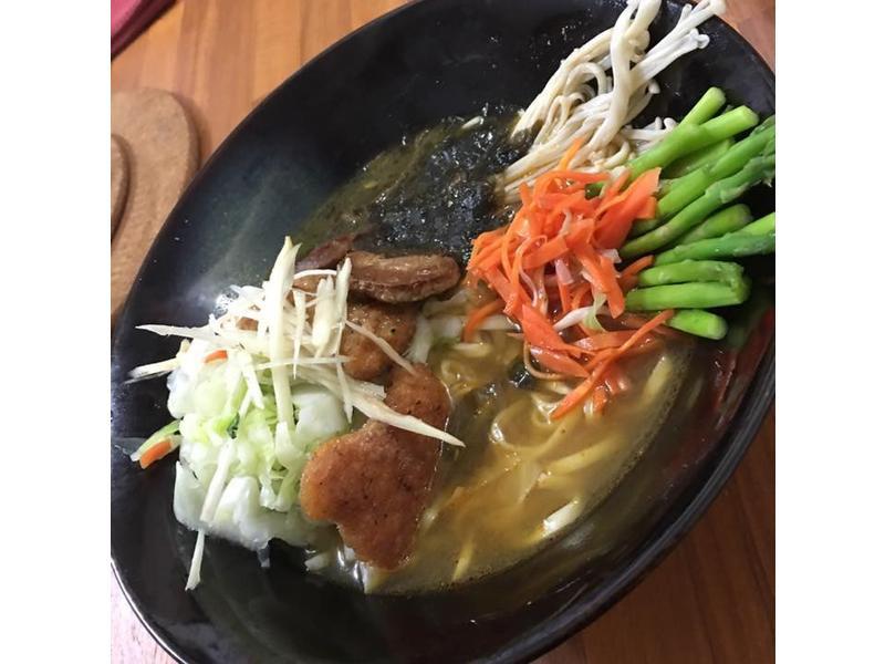 🍜悠然和風蔬食淨湯麵🍜