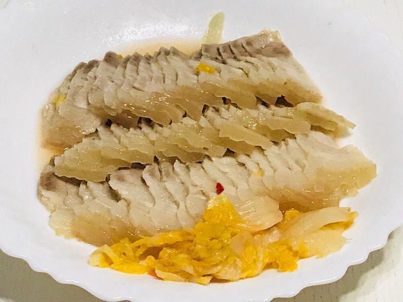 清蒸白肉Meat slices