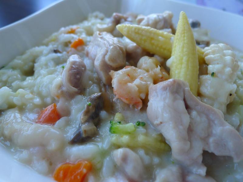 【十分輕鬆料理DIY】海陸起司燉飯