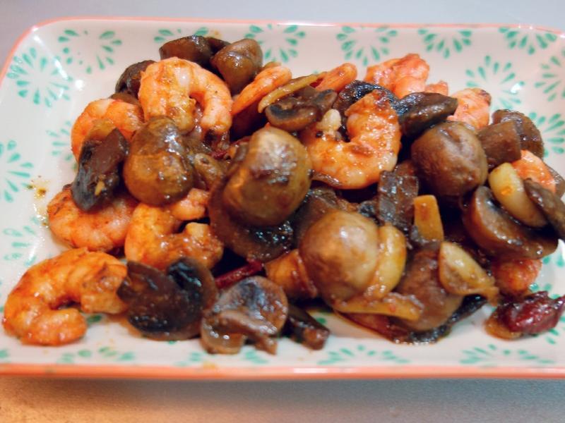 西班牙蒜味蝦 Tapas @阿寶寶食堂