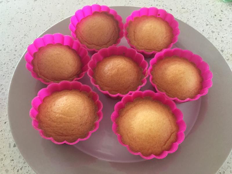 超簡單杯子蛋糕