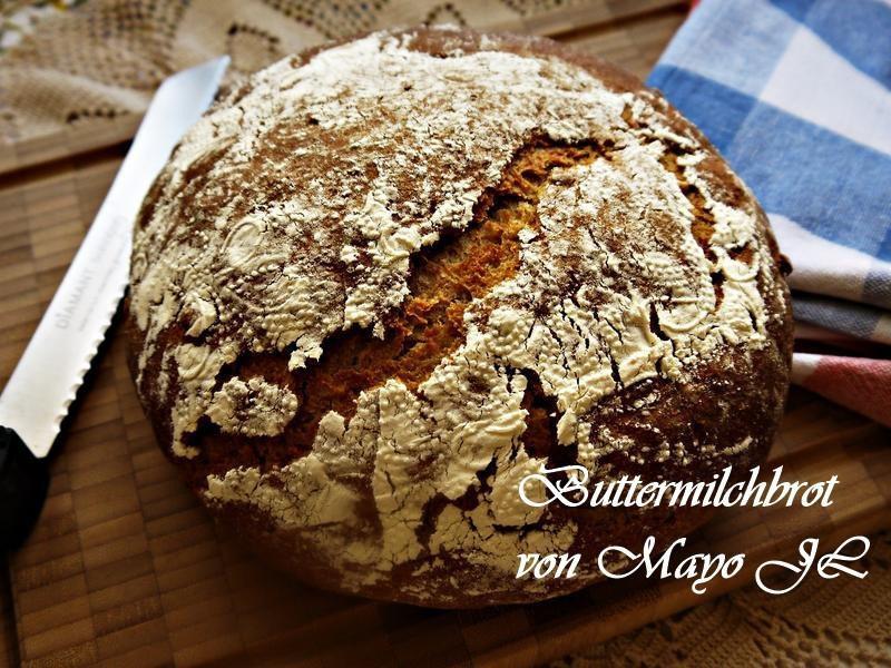 白脫牛奶酸麵糰麵包