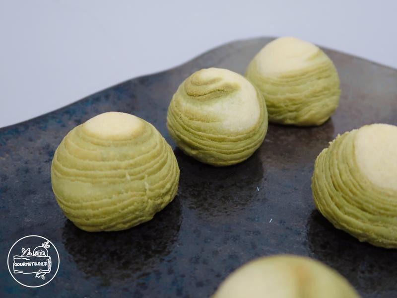 抹茶紅豆酥(層層完美心意)